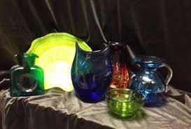 blenko glass vase available for west