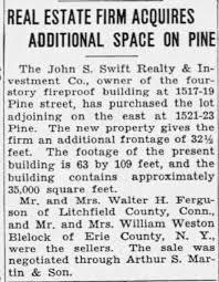 William Weston Blelock sells property. - Newspapers.com