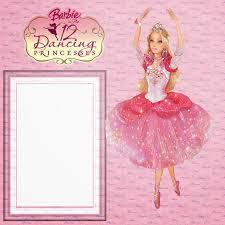 Invitaciones O Marcos Para Fotos De Barbie Para Imprimir Gratis