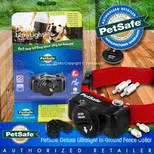 Petsafe In Ground Fence Deluxe Ultralight Dog Collar Pul 275 Receiver W Rfa 67 Ebay