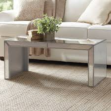 dicha mirrored coffee table