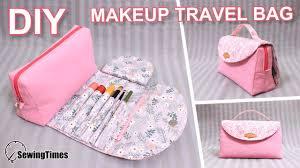 diy makeup travel bag 파우치만들기