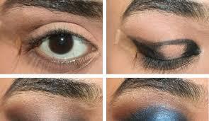 elegant blue eyes makeup tutorial
