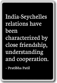 com seychelles relations have been charact