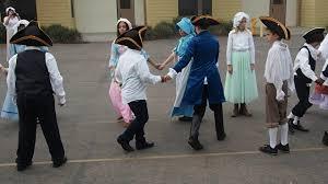 Colonial Dance at Ada Harris School - YouTube