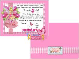 Invitacion Cumpleanos Nina