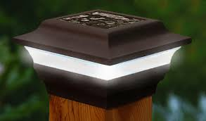 4 Solar Post Cap Bronze Aluminum One Year Warranty