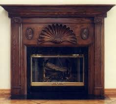 wood fireplace mantels custom carved