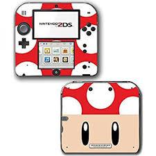 New Super Mario Bros 2 3d Toad Mushroom Video Game Vinyl Decal Skin Sticker Cover For Nintendo 2ds System Console Walmart Com Walmart Com