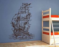 Pirate Ship Decals Etsy