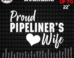 Spoiled Pipeliner S Girl Vinyl Decal Sticker Pipeliner Etsy