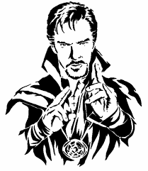 Dr Strange Stencil By Longquang Thingiverse Marvel Drawings Marvel Art Marvel Art Drawings