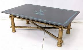 asian inspired decorator coffee table