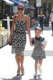 Myleene Klass and daughter Ava Bailey Quinn seen arriving at Smooth... News  Photo - Getty Images