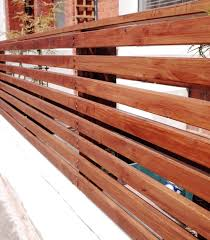 How To Create A Floating Cedar Wood Slat Fence Step By Step Tutorial