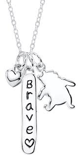 winnie the pooh cable chain pendant