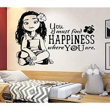 Amazon Com Disney Wall Decal Moana Wall Decal Decor Disney Movie Quote Decal Girls Room Decor Moana Gift 4156 Handmade