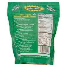 let s do organic unsweetened toasted