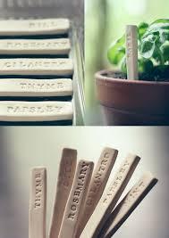 30 diy plant label marker ideas for