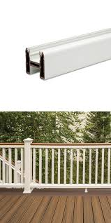 Fence Pickets 180986 Trex Transcend 6 Ft Actual 67 5 Composite White Top Or Bottom Rail Buy It Now Only 44 98 On Eb Trex Transcend Fence Pickets Trex