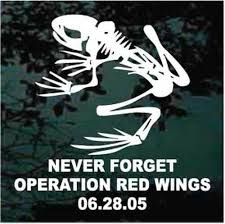 Operation Red Wings Car Window Decals Stickers Decal Junky