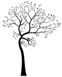Large Tree Silhouette Wall Decal Brings The Beauty Of Nature Indoors Home Interior Design Themes
