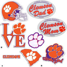 Decals Magnets Clemson Gear Tagged Decal Mr Knickerbocker