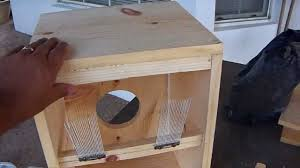 diy home made cajon drum you