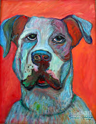 Image result for abstract paintings of dogs