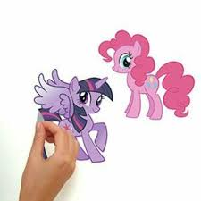 My Little Pony Wall Decals With Glitter Roommates Decor