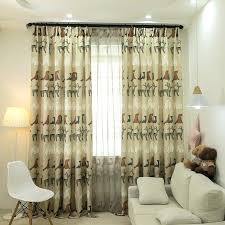 Boy Window Curtains Curtain For Kids Bedroom Children Blackout Tulle Sheer Printed Bay Drapes Childrens Us Off Toqueglamour