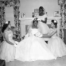 Mrs. Addie Murray Wedding, Los Angeles, 1958 — Calisphere