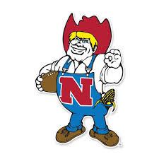 Herbie Husker Vinyl Decal Nebraska Cornhuskers Cornhuskers Nebraska Cornhuskers Football