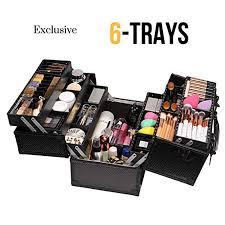 ktaxon makeup train case professional
