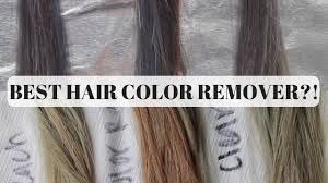 best color removers for hair bleach