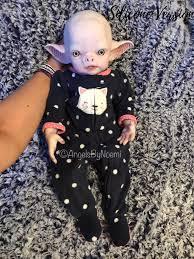 Vlad the vampire Reborn Vinyl Doll Kit by Noemi Smith