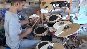 diy electronic drum set you