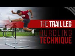 hurdle technique trail leg mechanics