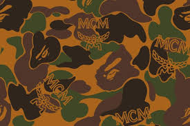 mcm x bape capsule collection sees