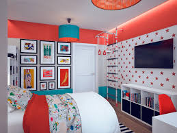This Gallery Like Home Reflects A Different Art Style In Every Room Pop Art Bedroom Interior Design Living Room Decor