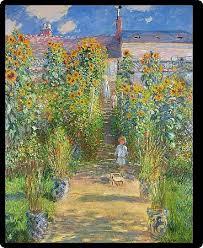 garden at vetheuil 1880 oil on canvas