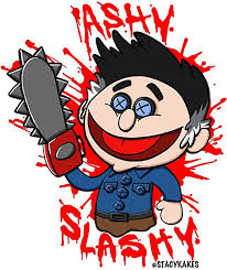 Amazon Com Ash Vs Evil Dead Ashy Slashy Decal For Cars Laptops And More Use Inside Or Outside Sicks To Any Flat Smooth Surface Computers Accessories