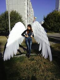 giant angel wings costume large