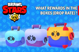 Guide Brawl Stars what are the rewards in the boxes (drop rate ...
