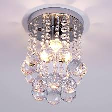 modern small crystal chandelier re