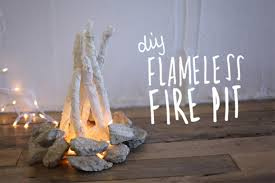 10 Diy Flameless Firepit Projects Full Home Living