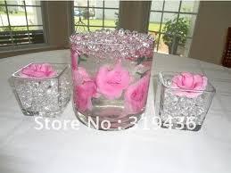beautiful clear glass vase filler decor