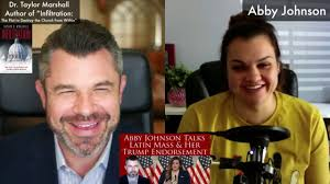FULL VERSION: Abby Johnson talks about her TRUMP Speech and on LATIN MASS!  - YouTube