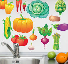 Vegetable Decal Collection Tenstickers