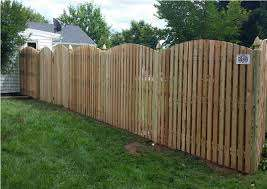 6 Foot Wood Semi Private Wyngate Fence With Arch Lattice Fence Panels Vinyl Fence Panels Wood Fence